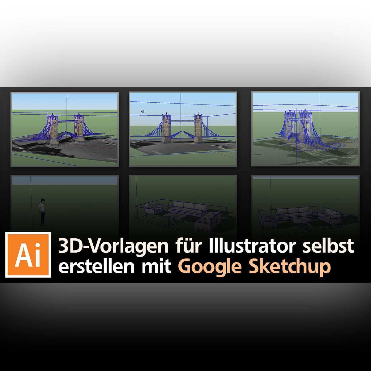 3D-Vorlagen Für Illustrator Selbst Erstellen Mit Google