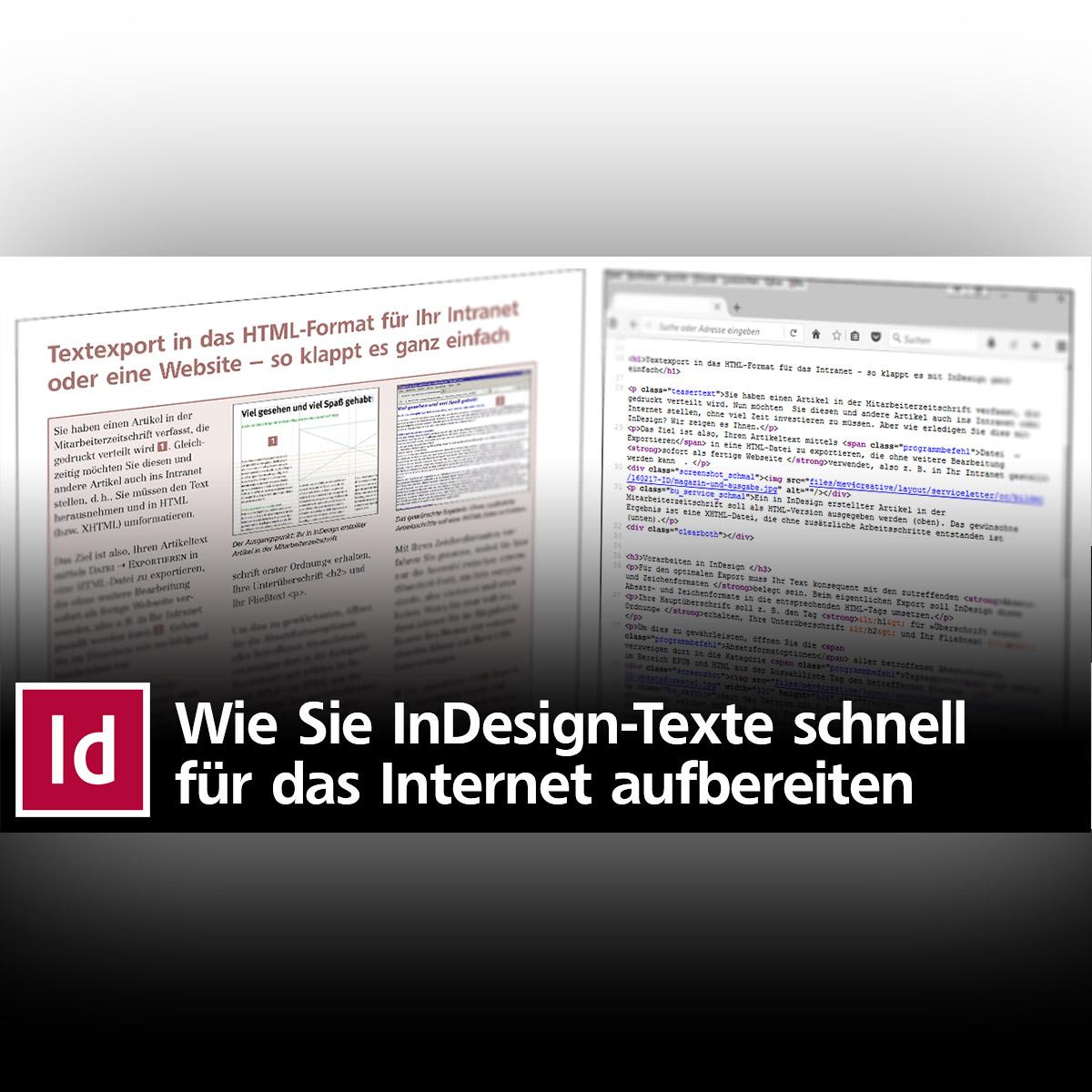 Textexport in das HTML-Format das Internet – so klappt es mit ...