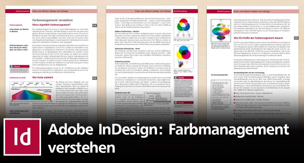 Grundlagen des Farbmanagements in InDesign