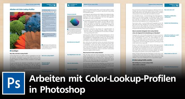 Wie Sie mit Color-Lookup-Profilen in Photoshop effektiv arbeiten