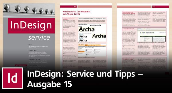 InDesign Service 15