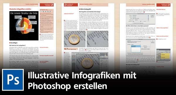 Wie Sie illustrative Infografiken in Photoshop erstellen