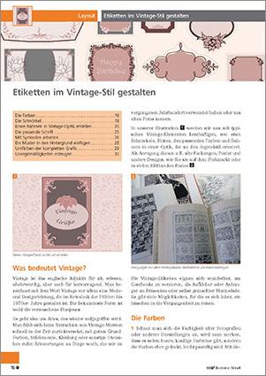 Wie Sie Geschmackvolle Etiketten Im Vintage Stil Mit Illustrator