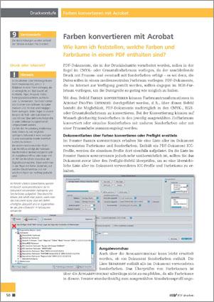 Wie Sie die Farben eines PDF-Dokuments mit Adobe Acrobat ...