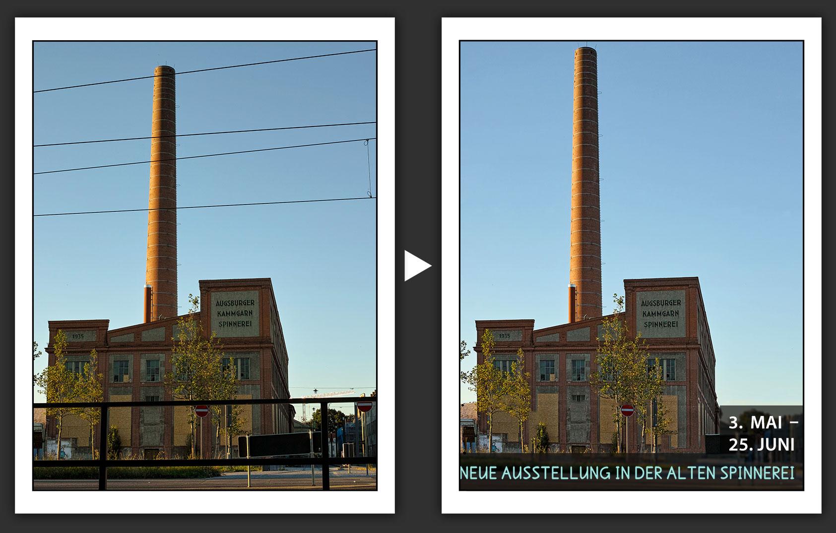 wie sie in photoshop schnell störende elemente aus outdoor-aufnahmen