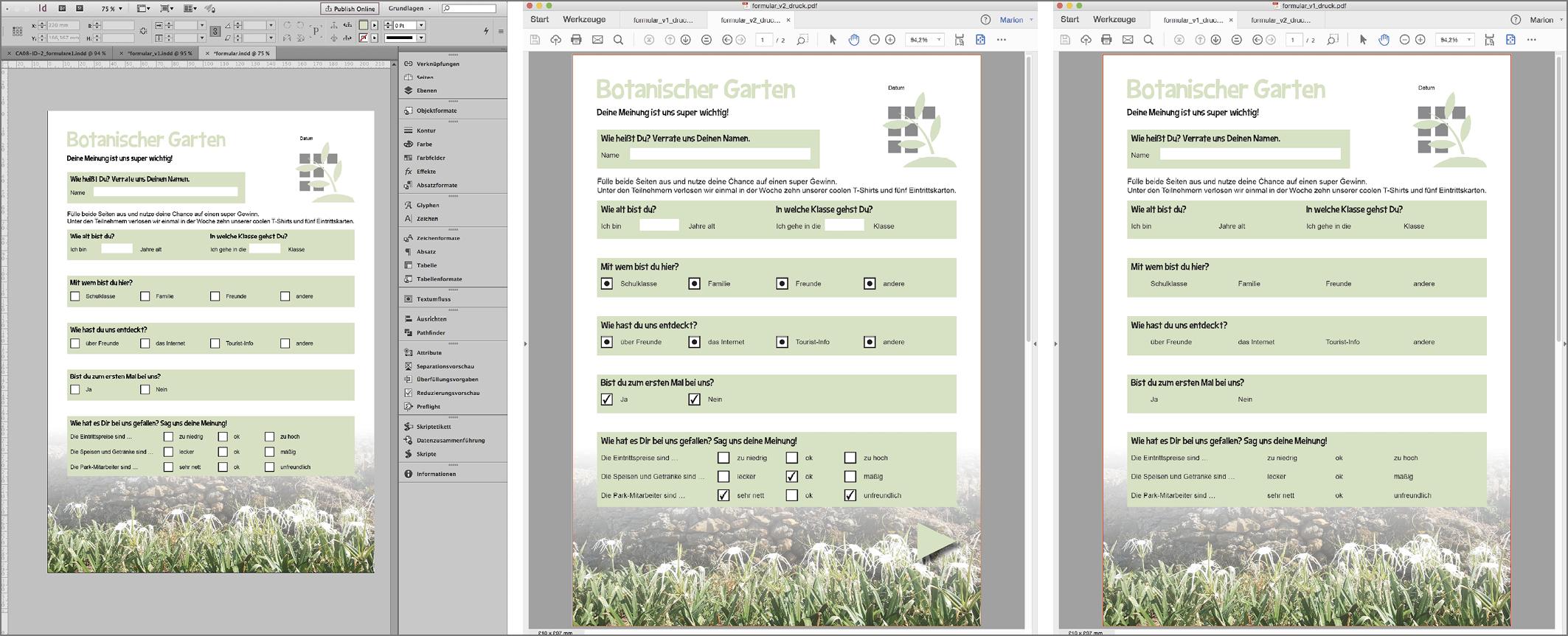 Fantastisch Indesign Bestellformular Vorlage Ideen - Entry Level ...