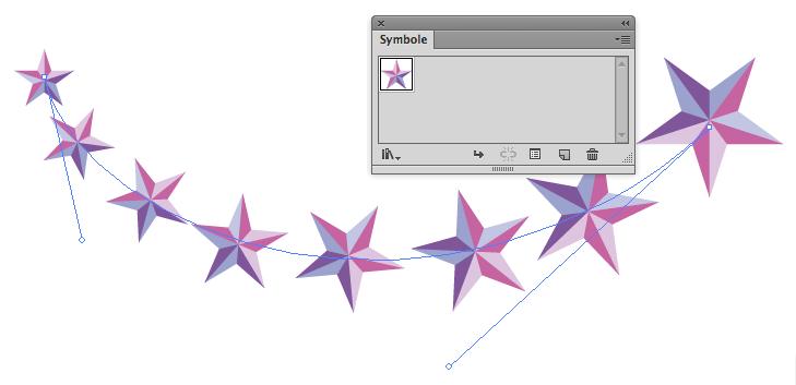 objekte an pfad ausrichten illustrator