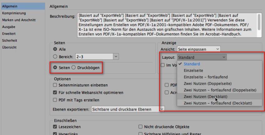 Optimale Pdf Dokumente Für Das Web Mit Indesign Erstellen Diese
