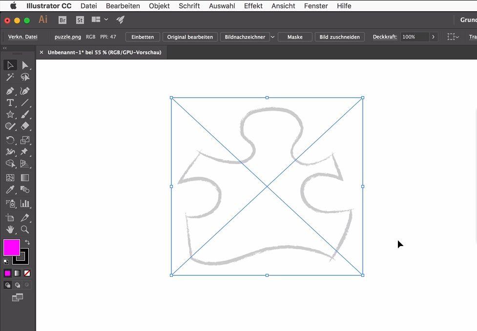Vorlagen in Illustrator noch fließender nachzeichnen – diese Ebenen ...