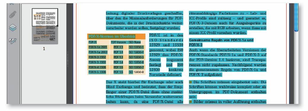 Tabellen aus PDF-Dokumenten in anderen Programmen verwenden ...